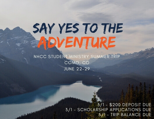 2018 NHCC High School Mission Trip