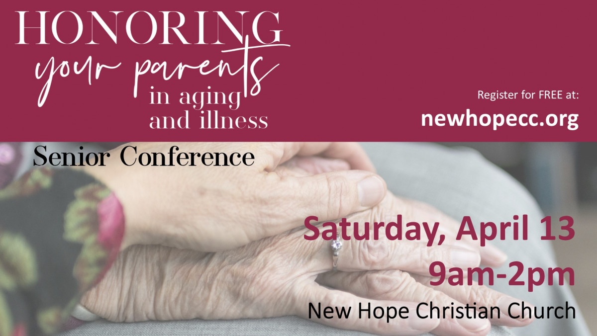 Honoring Your Parents Senior Conference