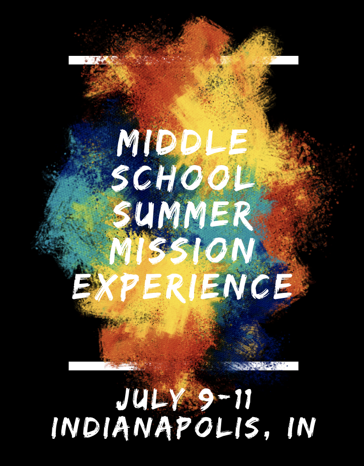 Middle School Summer Mission Experience