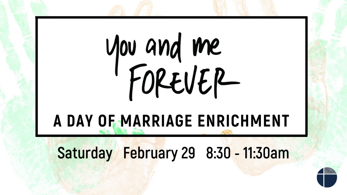 You and Me Forever Marriage Event