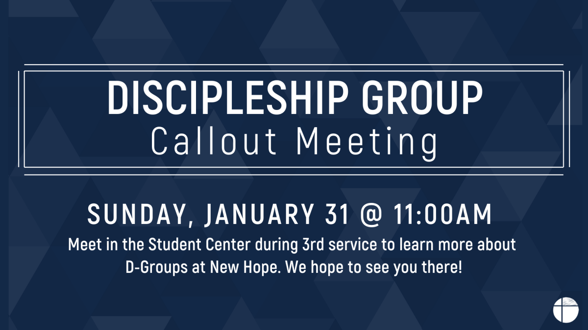 D-Group Callout Meeting