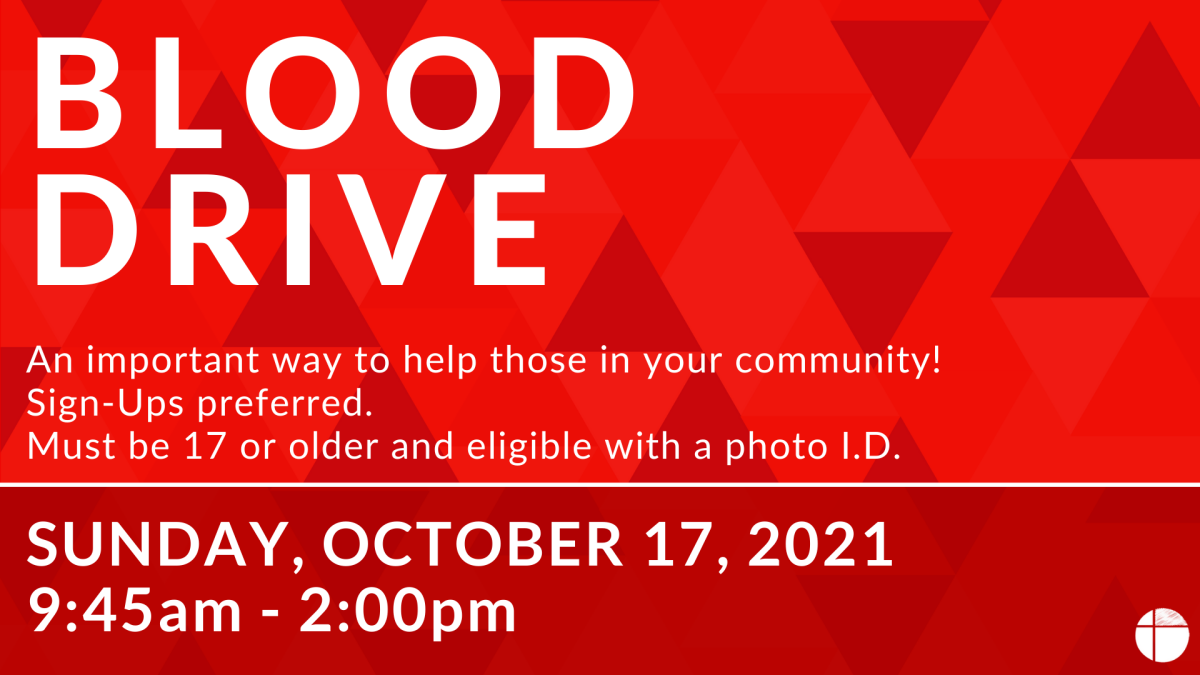 Blood Drive - New Hope Parking Lot